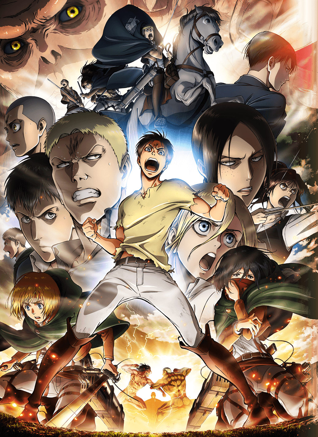 Shingeki No Kyojin 2nd Season هجوم العمالقة الحلقة 11 الموسم التاني مترجمة اون لاين Shahiid Anime