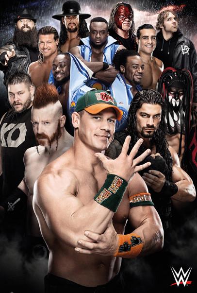 العروض الشهرية WWE